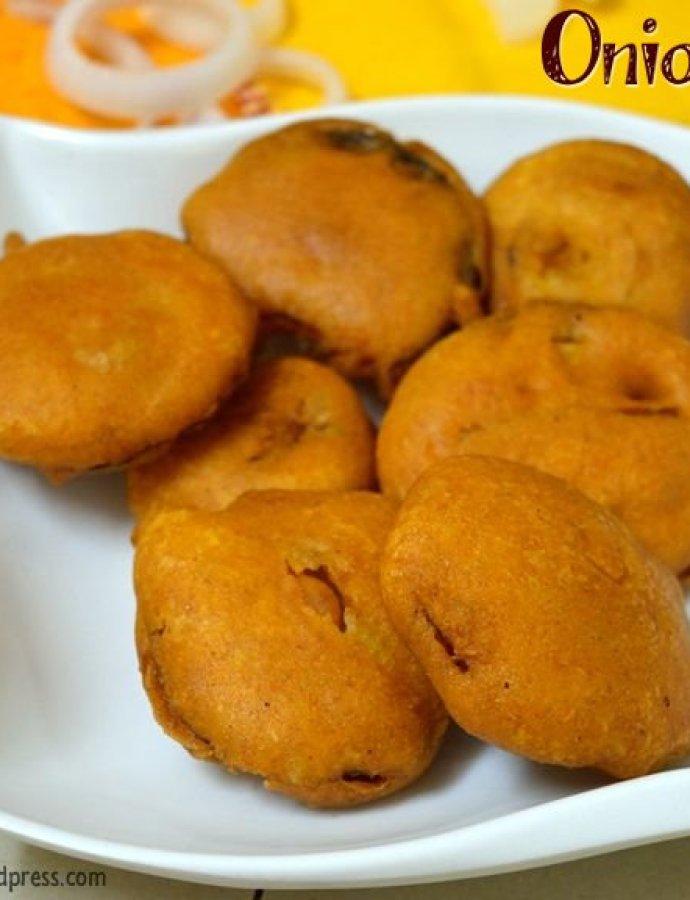 Onion Bajji | Onion Fritters
