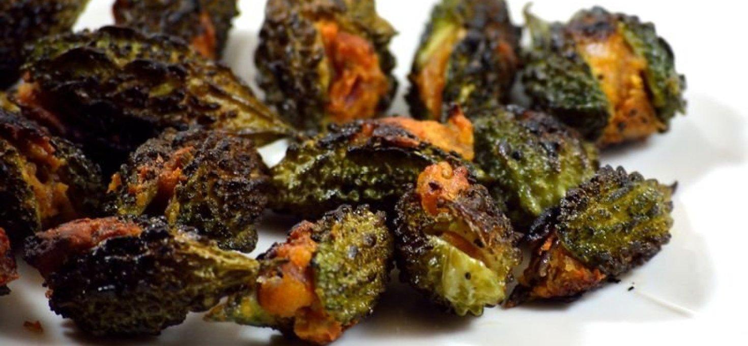 Stuffed Bitter Gourd Fry | Guthi Kakarakaya | Andhra Special
