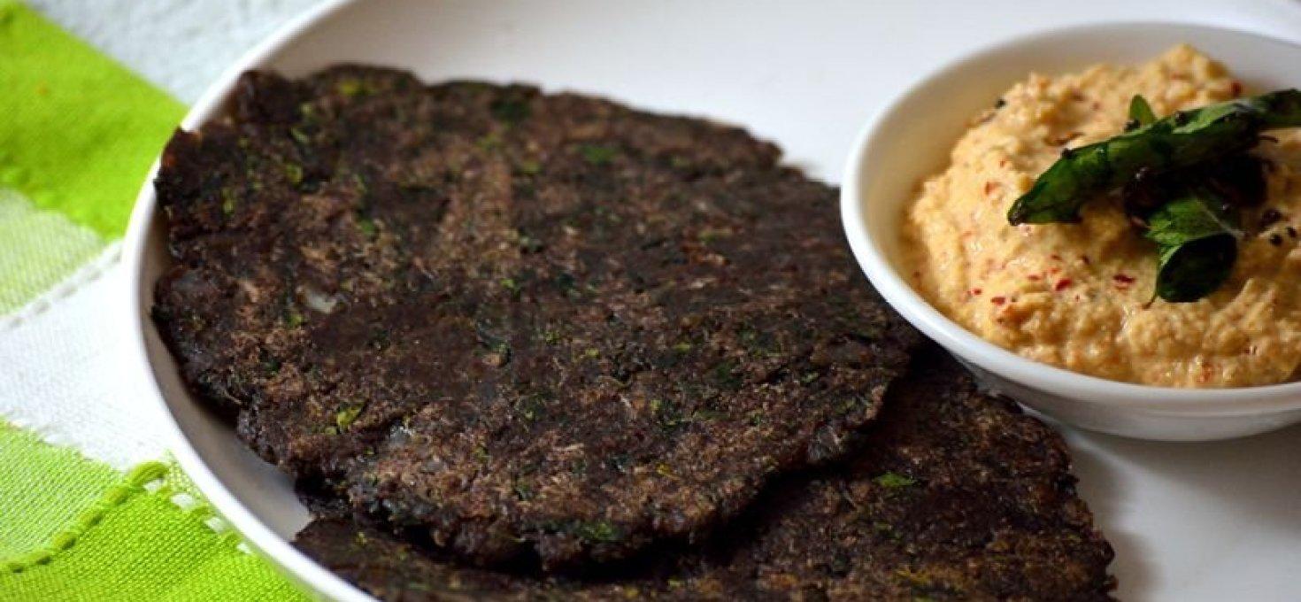 Murungai Keerai Ragi Adai | Healthy Breakfast Recipes