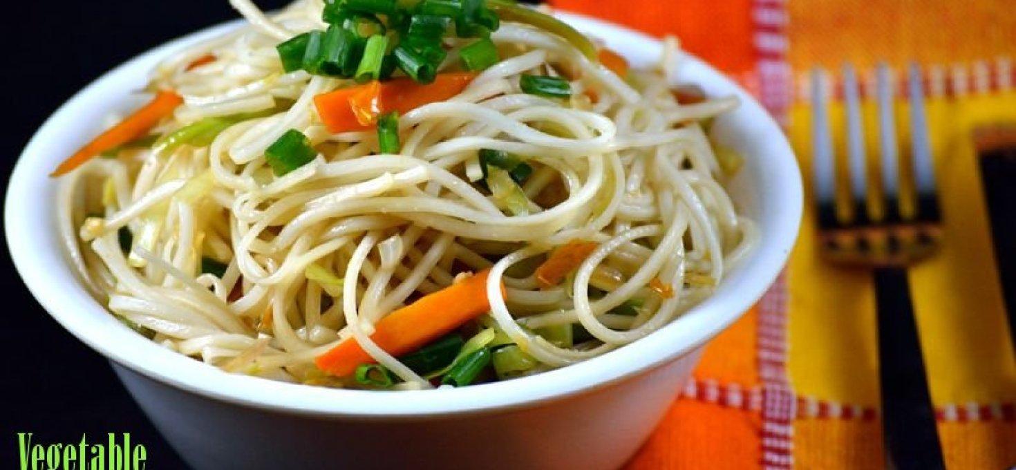 Vegetable Noodles | Easy Veg Noodles