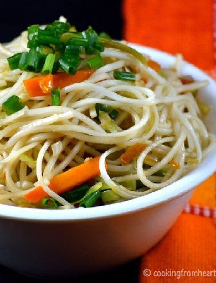 Vegetable Noodles | Easy Veg Noodles
