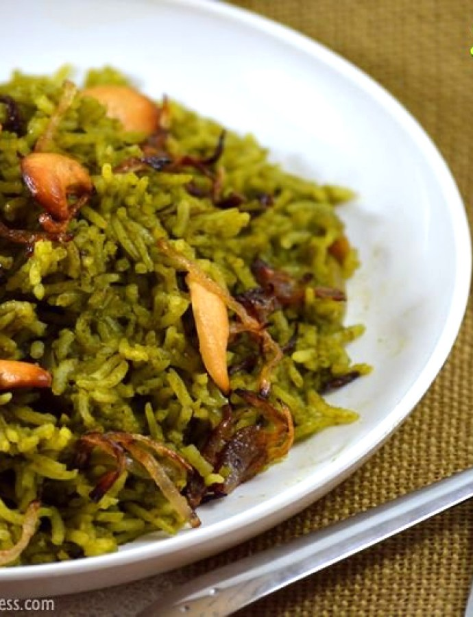 Palak Biryani | Sunday Biriyani Recipes