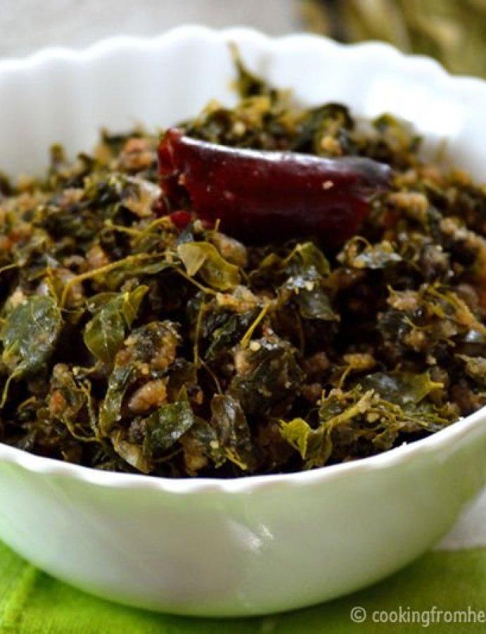 Murungai Keerai Poriyal   Drumstick Leaves Stir-fry