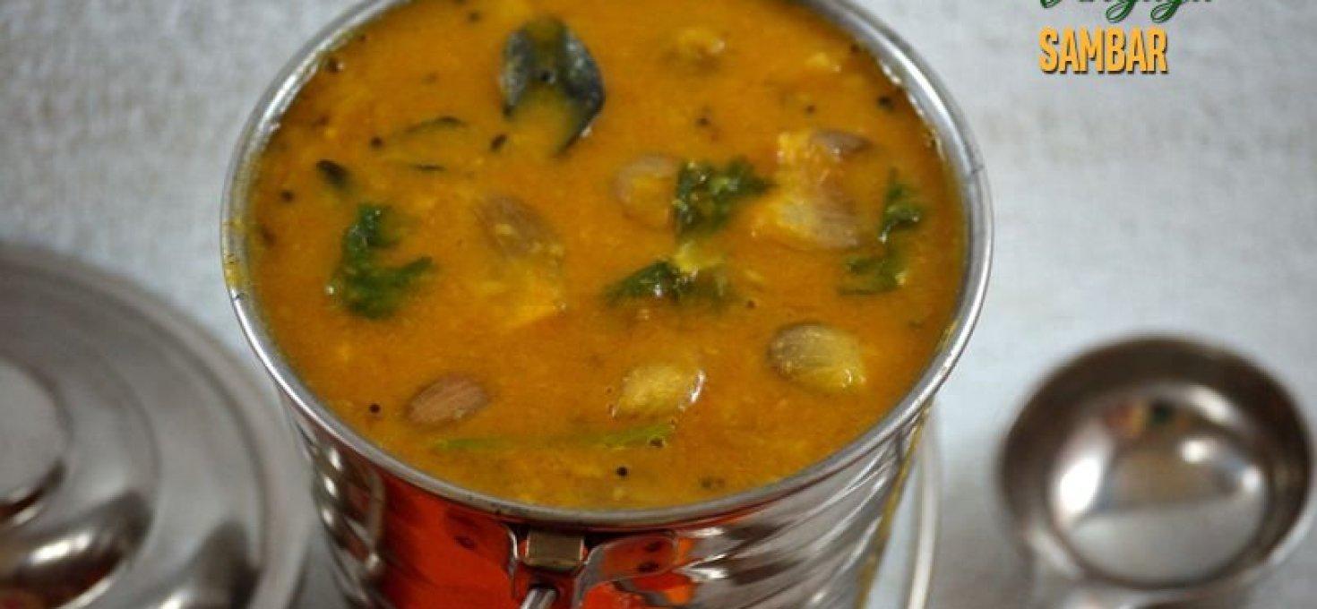 Chinna Vengaya Sambar | Vengaya Sambar Recipe