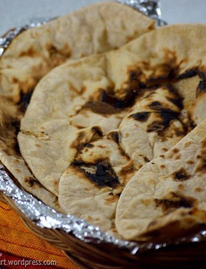 Tandoori Roti | Homemade Tandoori Roti Recipe