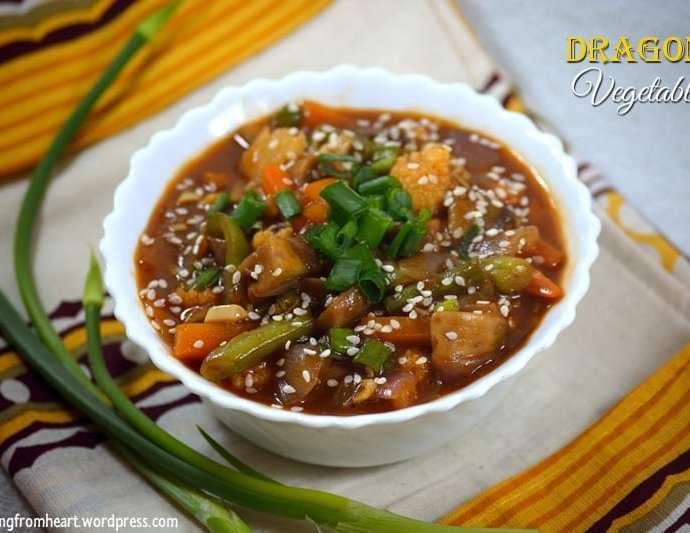 Dragon Vegetable | Chilly Dragon Vegetable Gravy