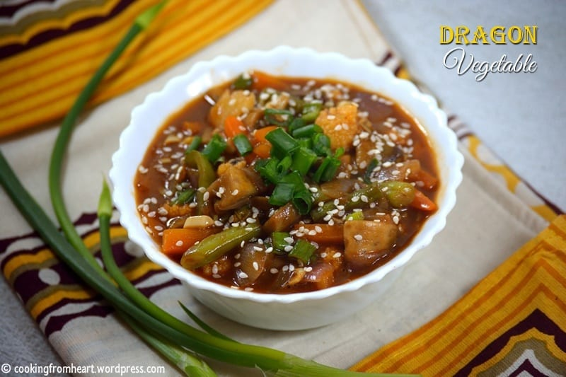 Dragon Vegetable | Chilly Dragon Vegetable Gravy