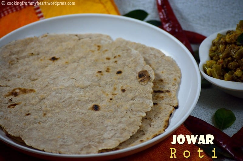Jowar Roti | Jolada Rotti | Sorghum Flat Bread Recipe | Zero Oil Recipes
