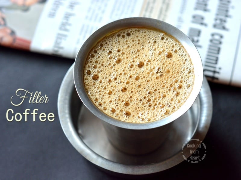 Filter Kaapi | Filter Coffee Recipe | Degree Coffee