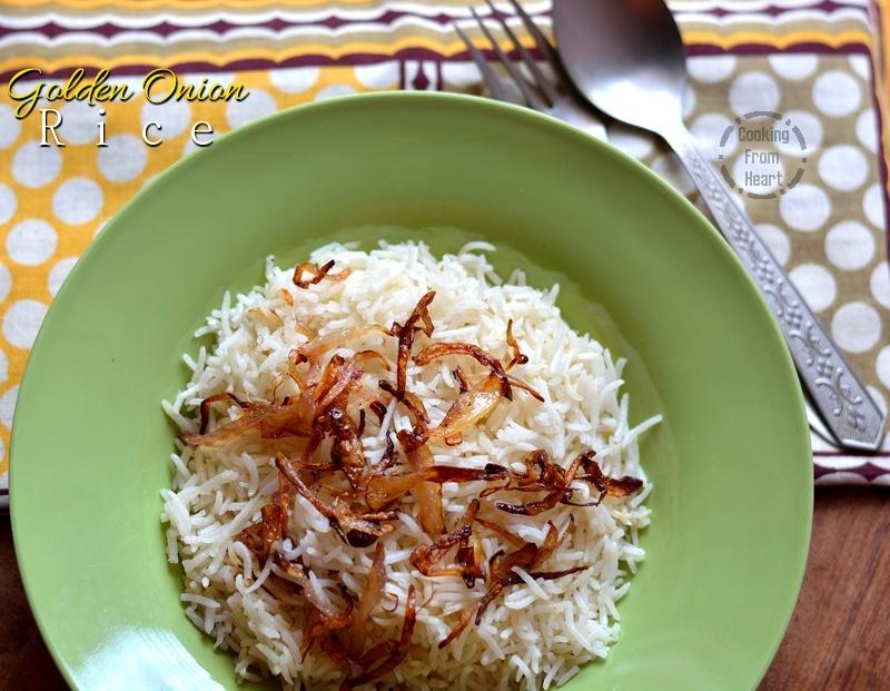 Golden Onion Rice 2-1
