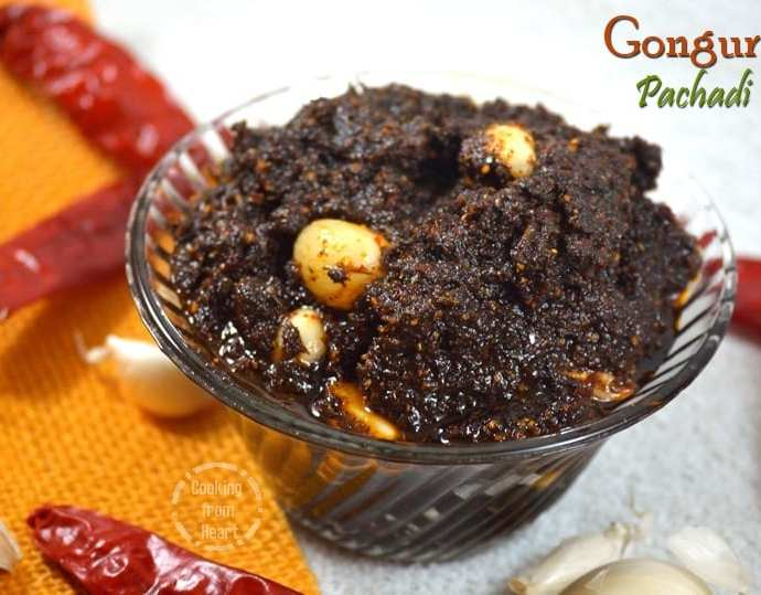 Gongura Pachadi   Andhra Style Gongura Pickle
