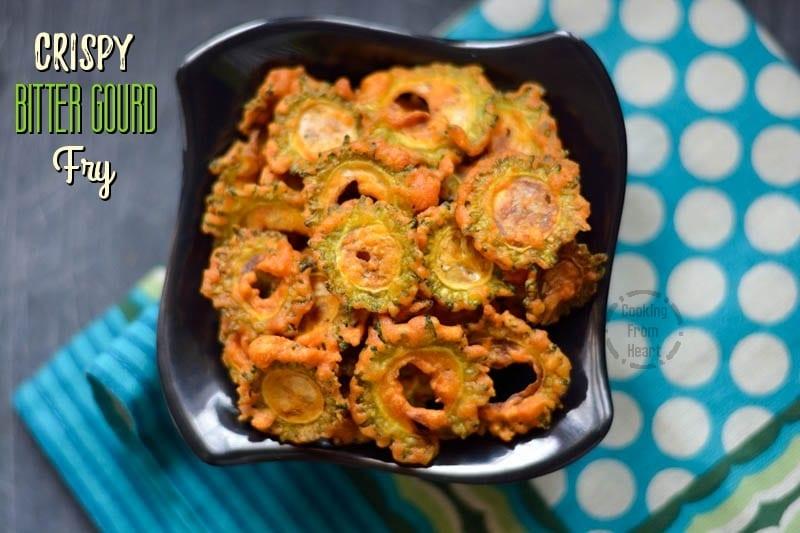 Crispy Bitter Gourd Fry (4)