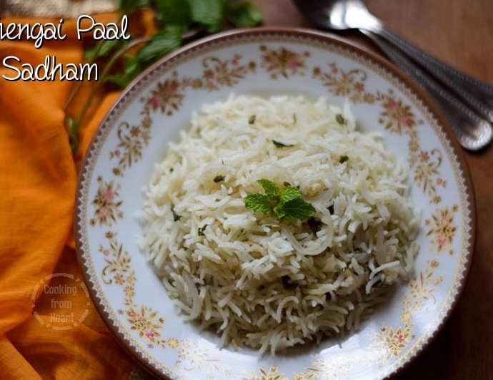 Thengai Paal Sadham | Coconut Milk Pulao