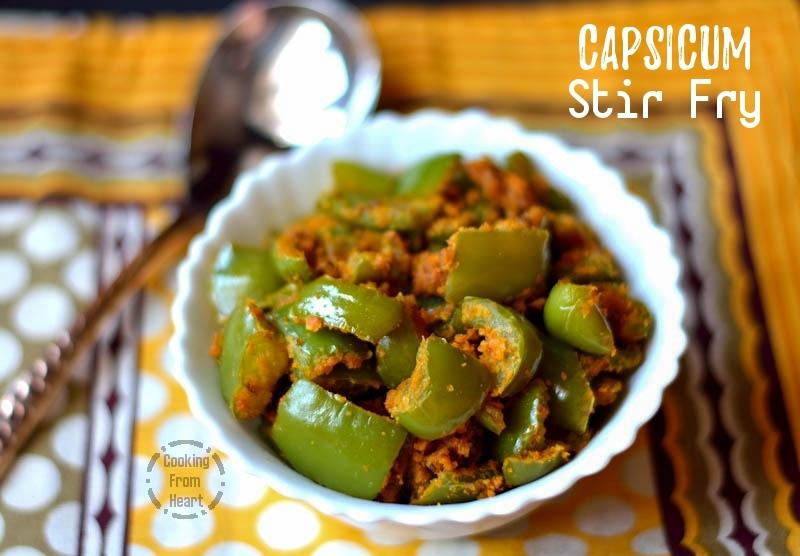 Capsicum Stir Fry (4)