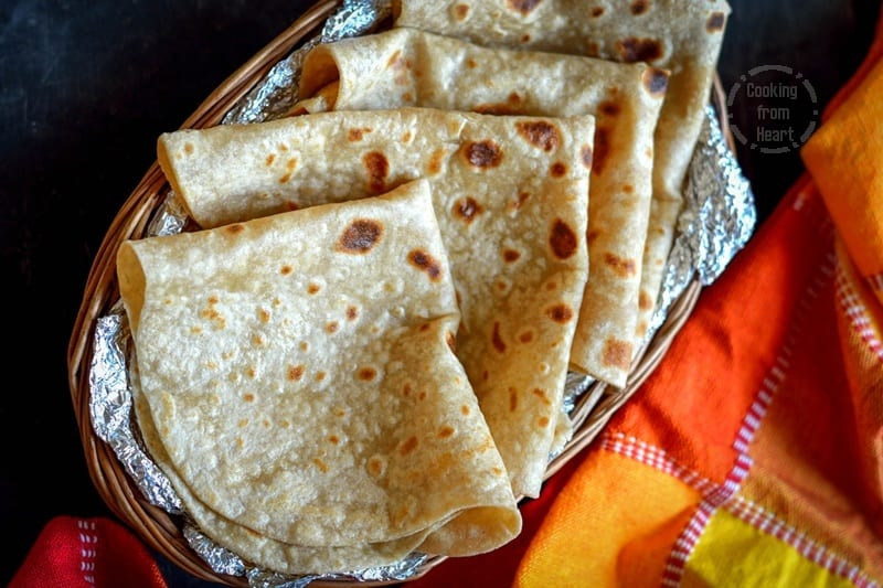 Rumali Roti | Homemade Roomali Roti Recipe