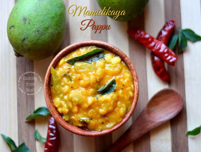 Mamidikaya Pappu | Andhra Style Raw Mango Dal