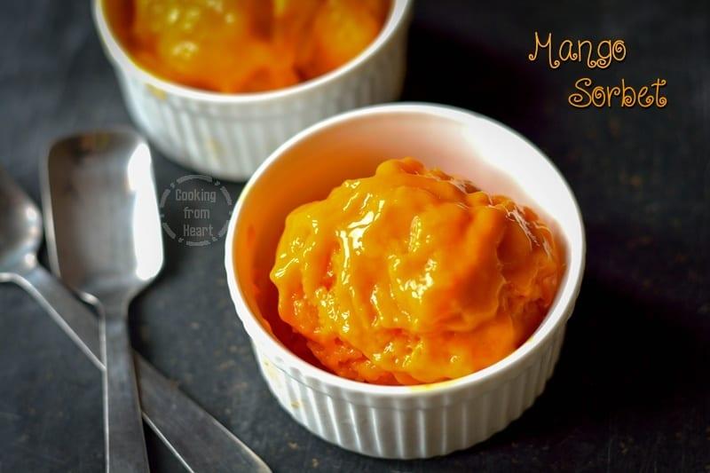 Mango Sorbet 5