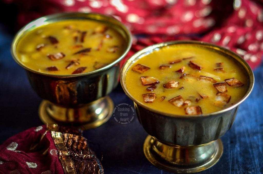 Chakka Pradhaman | Vegan Jackfruit Kheer