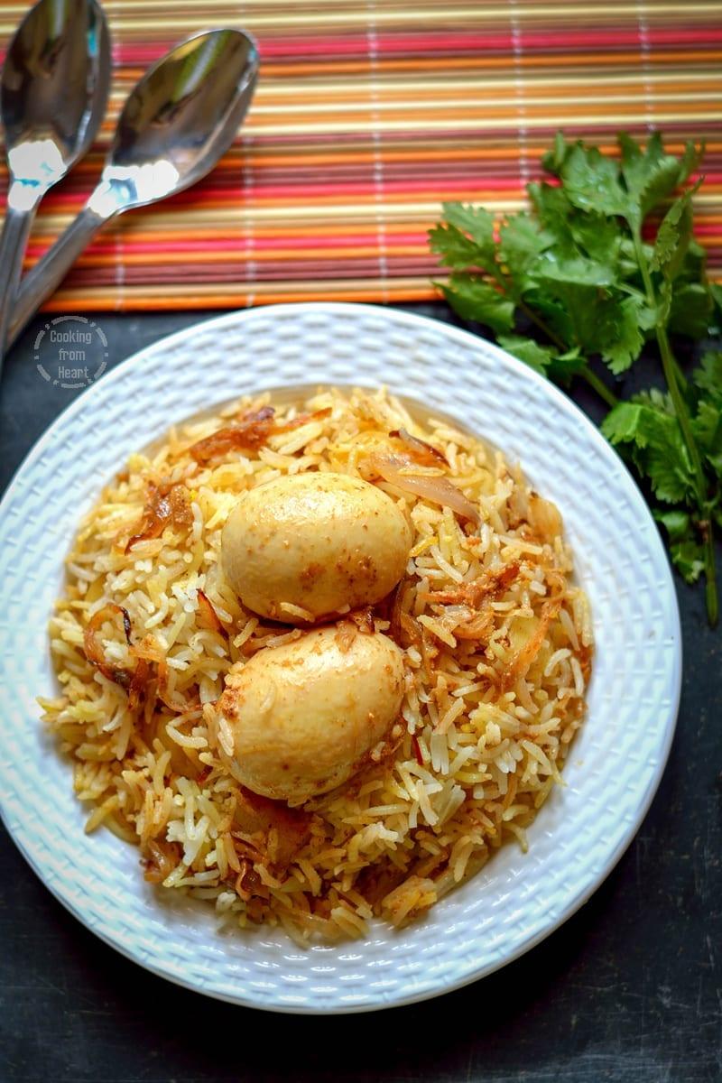 Kolkatta Egg Dum Biryani (2)