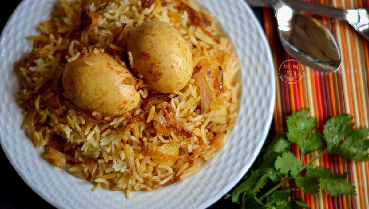 Kolkatta Egg Dum Biryani | Sunday Biryani Recipes