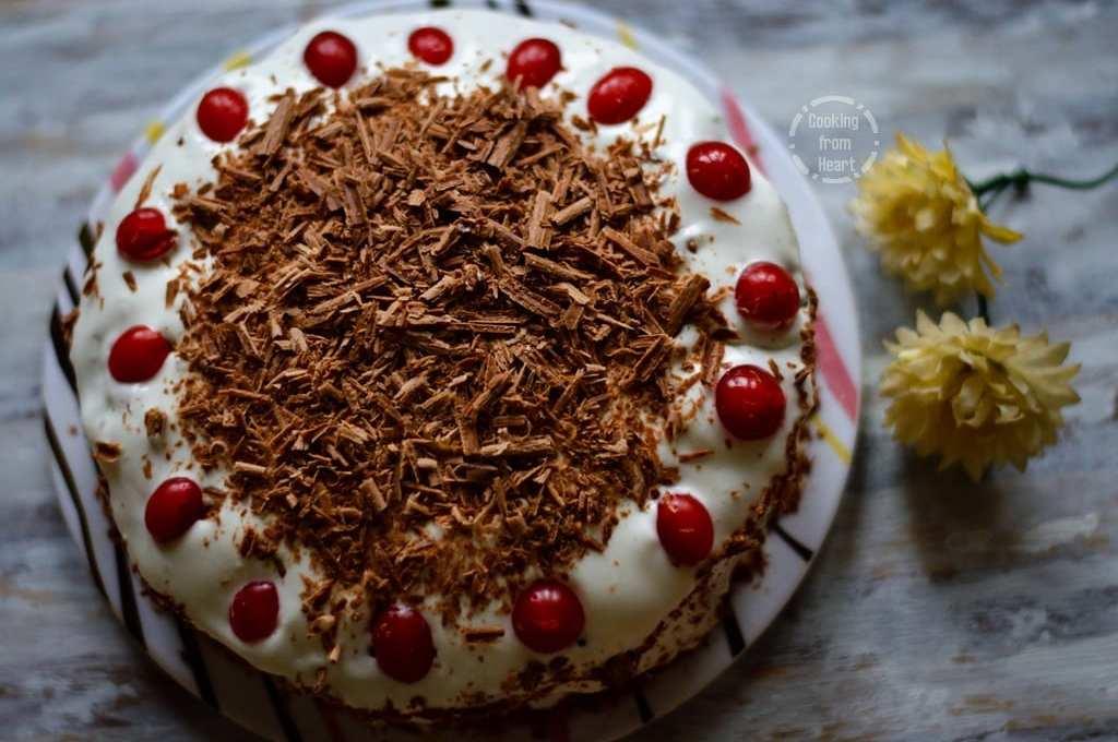 Eggless Black Forest Cake | Birthday Celebration Cakes