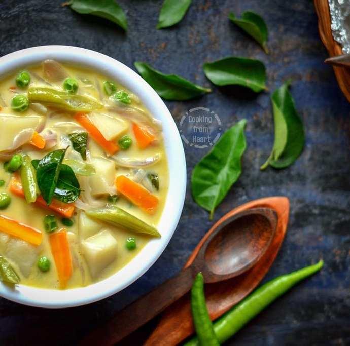 Vegetable Stew | Kerala Style Veg Stew