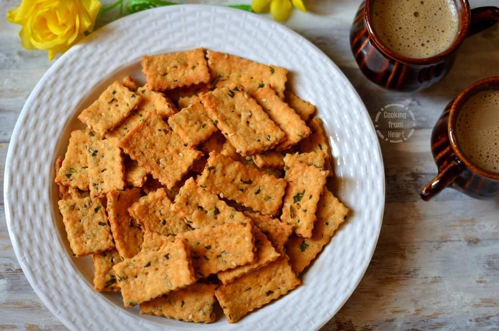 Masala Biscuits | Khara Biscuits | Savory Crackers