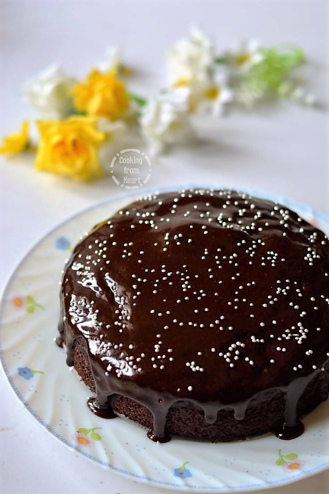 Chocolate Beetroot Cake Peanut Butter Icing