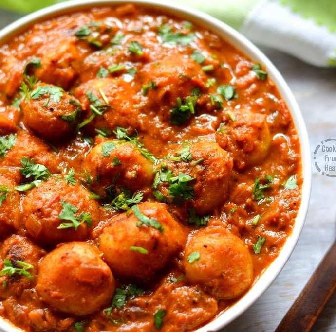 Dum Aloo Recipe | Restaurant Style Aloo Dum