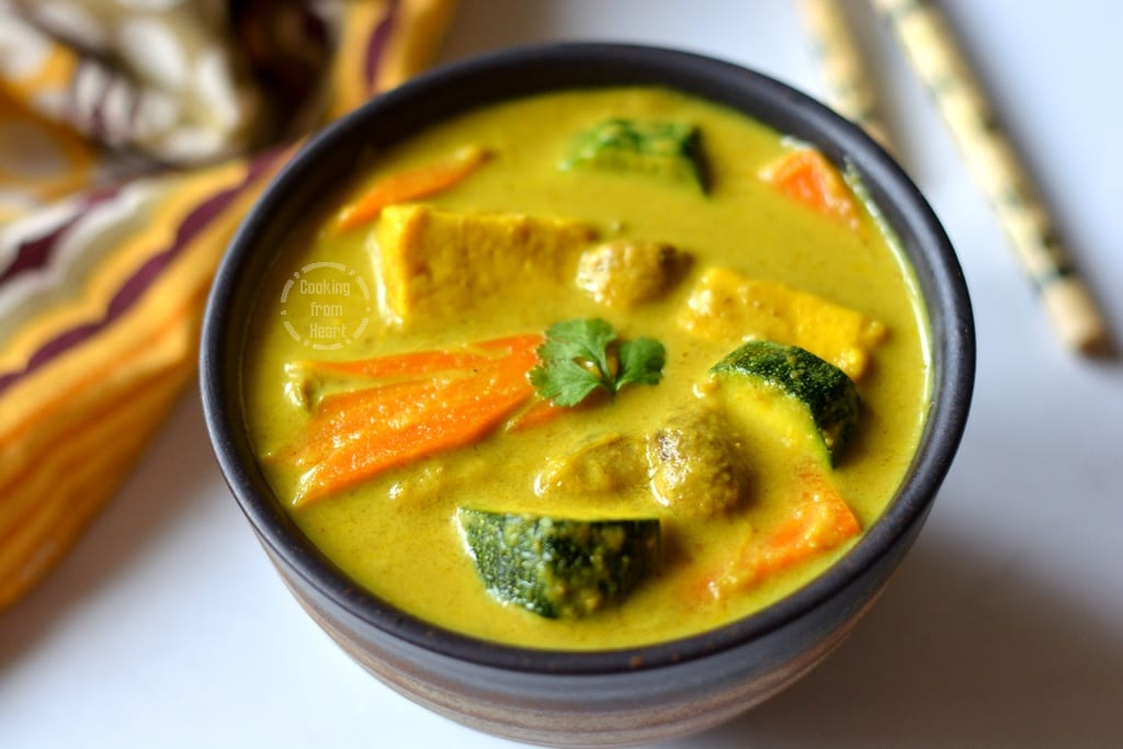 Thai Vegetable Yellow Curry