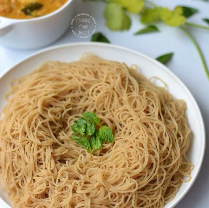 Wheat Idiyappam | Godhumai Idiyappam | Wheat String Hoppers