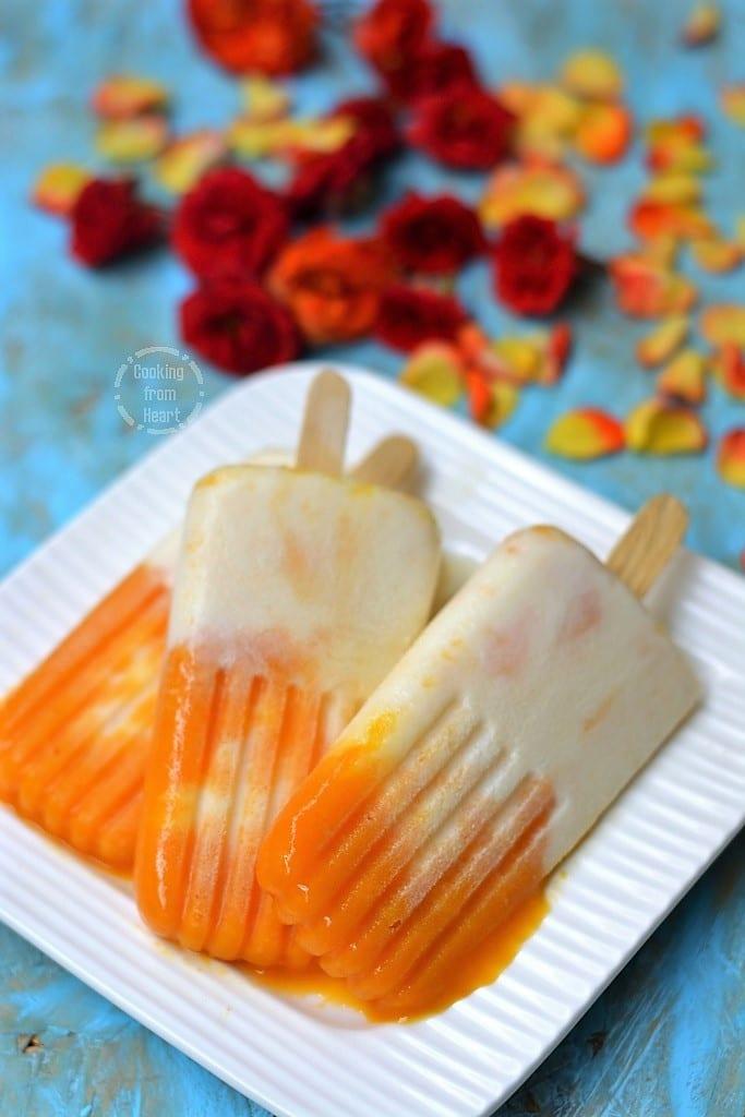 Mango Vanilla Ice cream