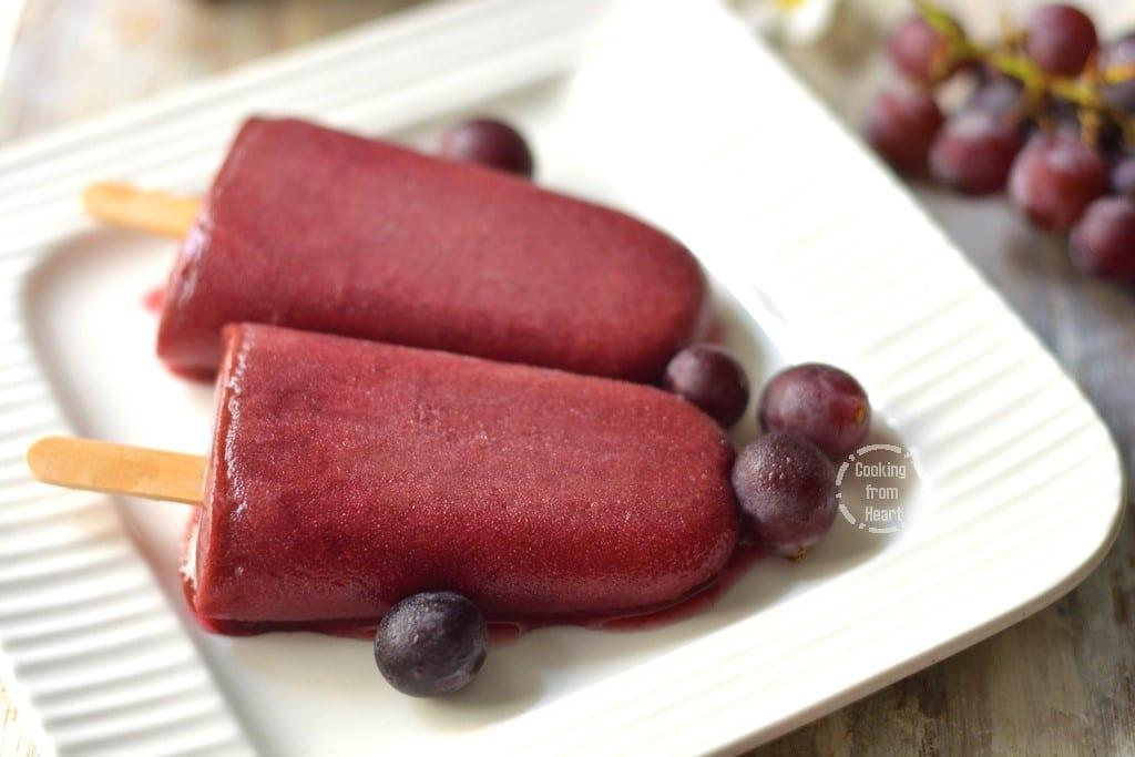 Grape Popsicles