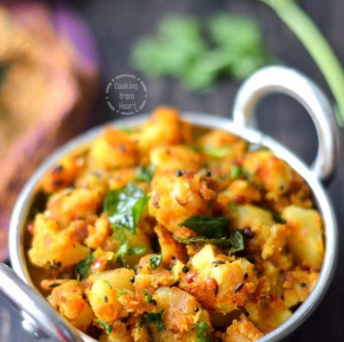 Tirunelveli Urulai Roast | Nellai Potato Roast