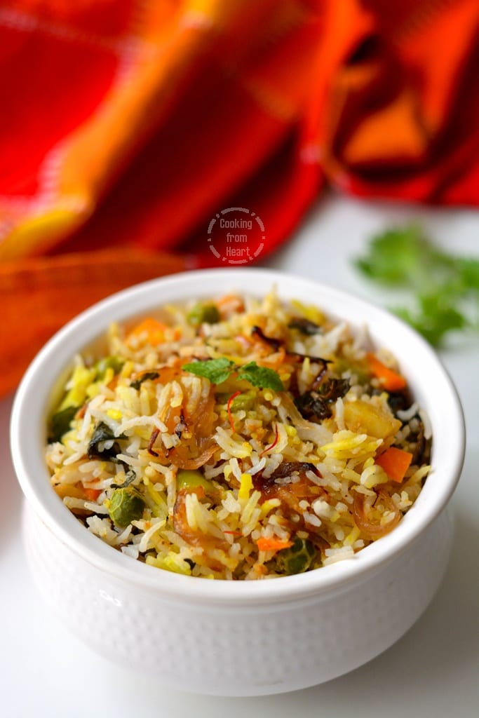 Zaffrani Vegetable Pulao