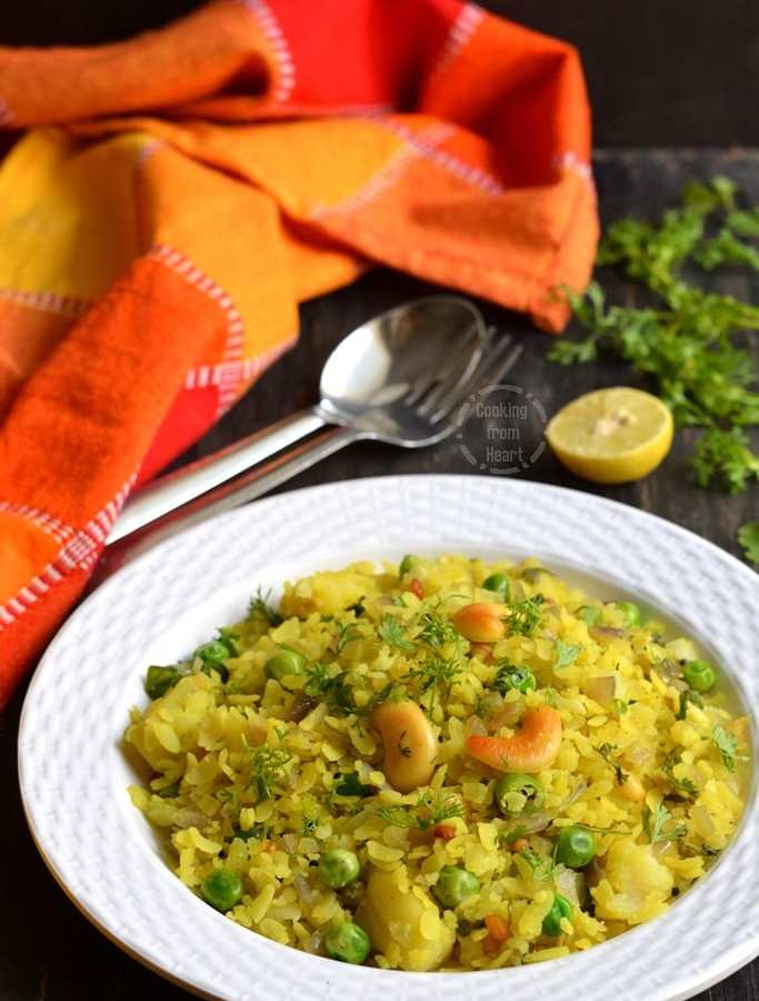 Aval Upma   Poha Upma   Quick Breakfast Recipes