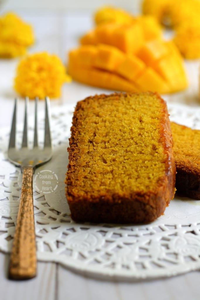Easy Mango Cake recipe