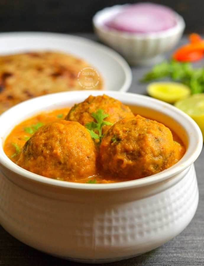 Lauki Kofta Curry | Bottle Gourd Kofta Curry