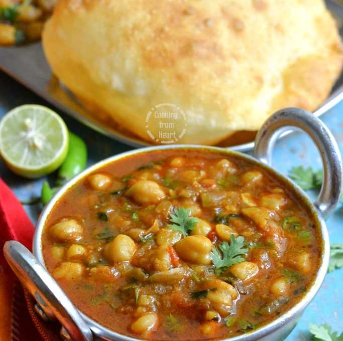 Pressure Cooker Chole Recipe | Quick Punjabi Chole