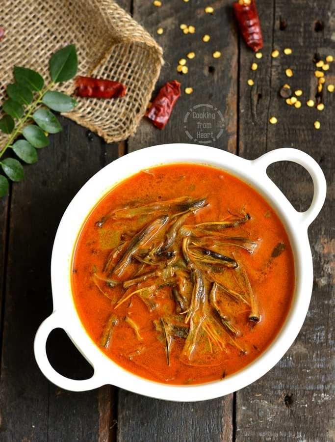 Chettinadu Saiva Meen Kuzhambu | Vegetarian Fish Gravy | Vazhaipoo Kuzhambu