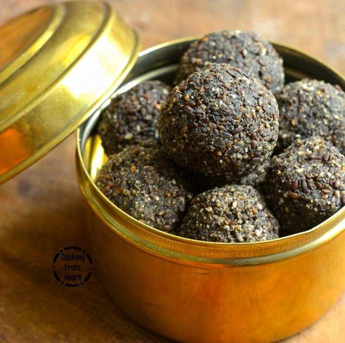 Ellu Urundai   Sesame Seeds Jaggery Balls