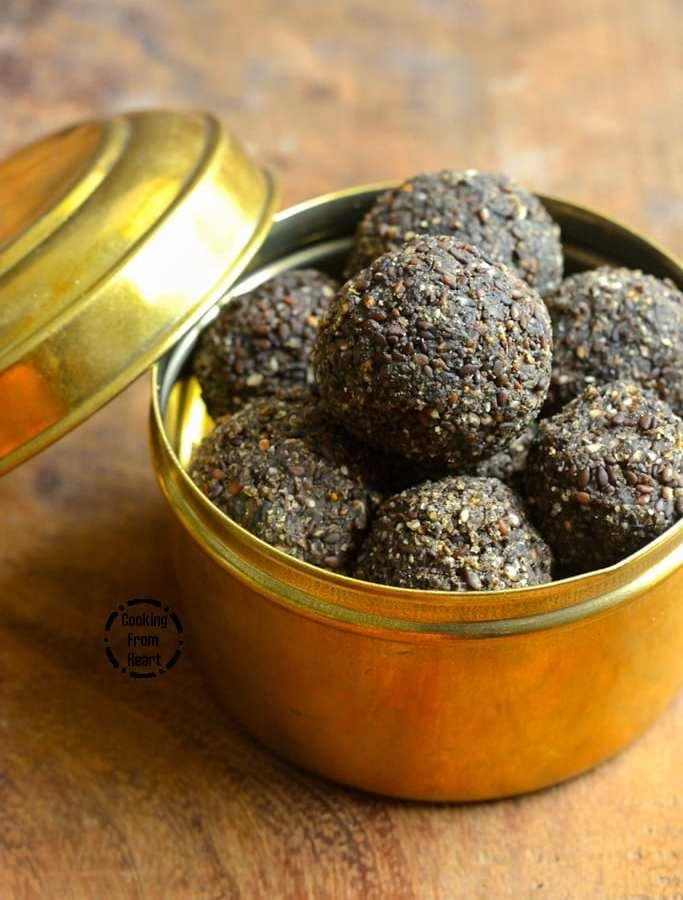 Ellu Urundai | Sesame Seeds Jaggery Balls