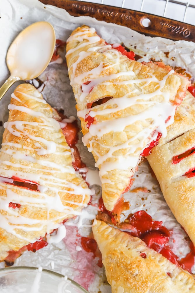 Strawberry Rhubarb Hand Pies