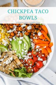 Chickpea Taco Bowls