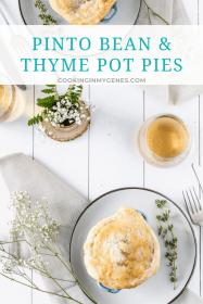 Pinto Bean & Thyme Pot Pies