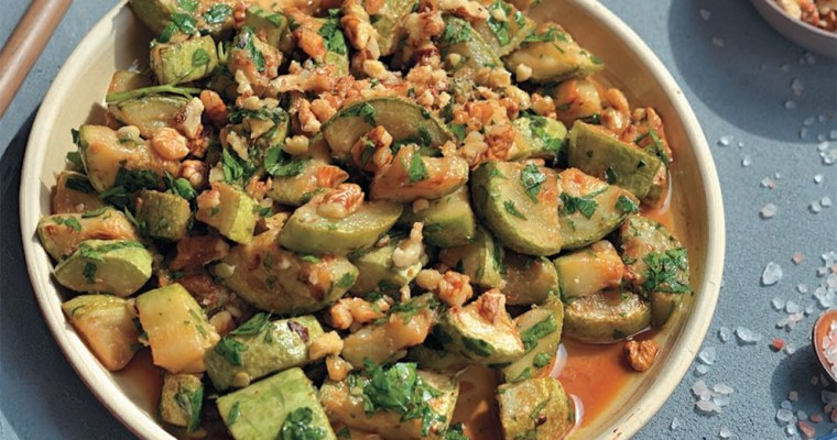 Quick Zucchini Salad