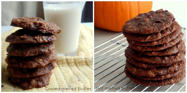 Pumpkin Cookie Side by Side
