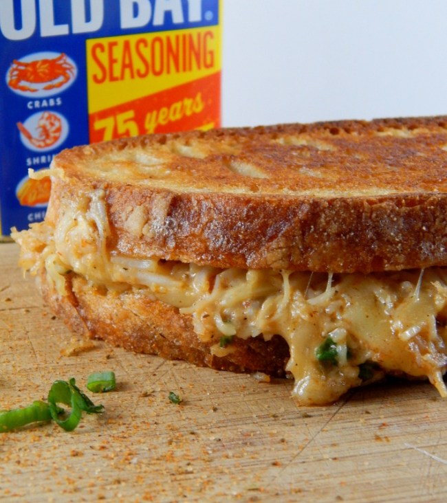 Grilled Cheese with Crab