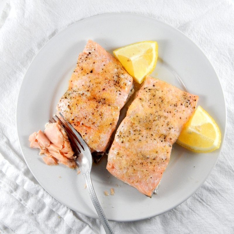 Messy Kitchen After Cooking: Easy Baked Salmon