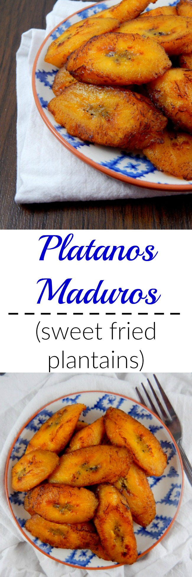 Platanos maduros - or sweet fried plantains - are a tasty side and a yummy traditional Latin American dish.